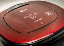 LG представила робот-пылесос с увеличенной мощностью