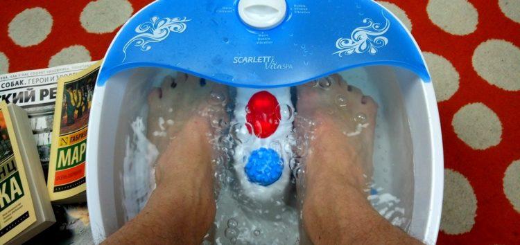 Ноги главреда: мужской тест массажной ванночки