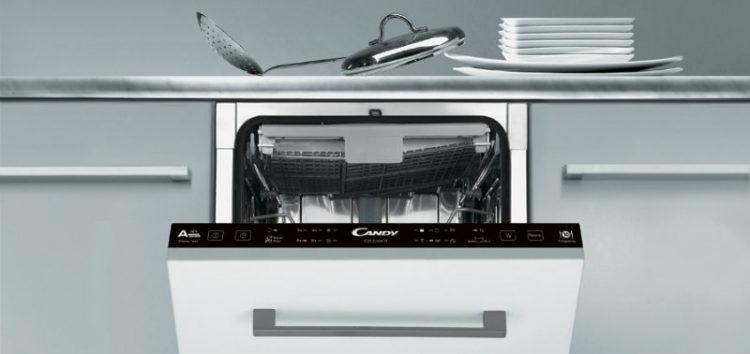 Уплотнение тарелочек: Candy выпустила вместительные узкие посудомойки
