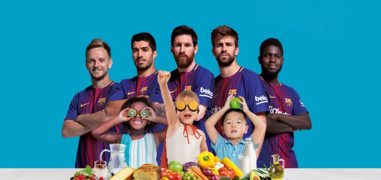 Компания «БЕКО» и футбольный клуб «Барселона» помогут детям
