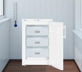 Морозилка LIEBHERR GP 1213: холод внутри и снаружи