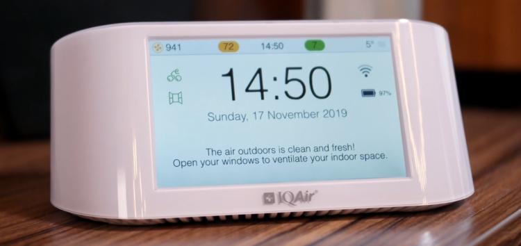 Умная домашняя метеостанция IQAir Air Visual Pro: зачем нужна и как работает?